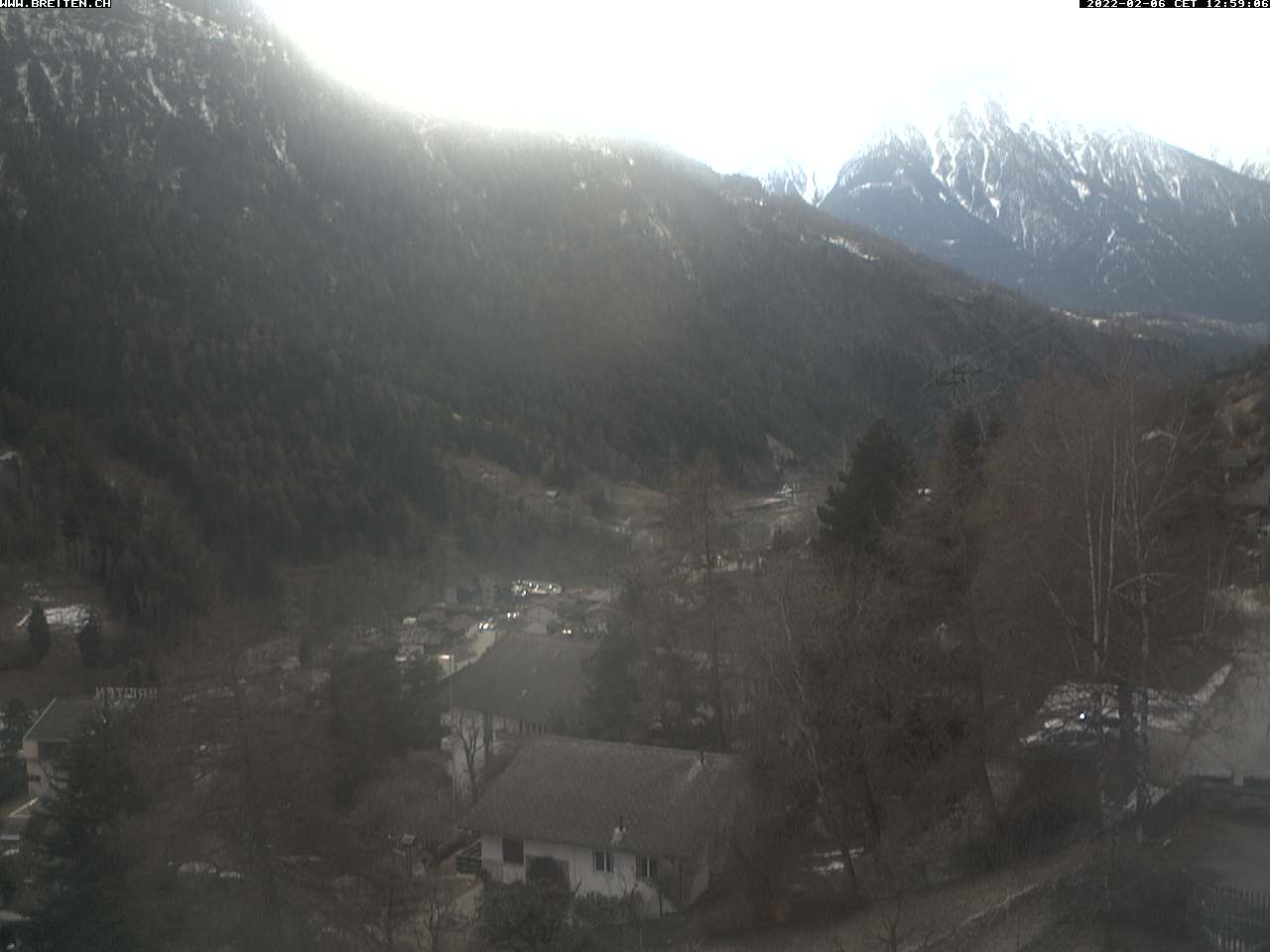 Badekkurort Breiten ob Mörel-Filet Wallis Schweiz
